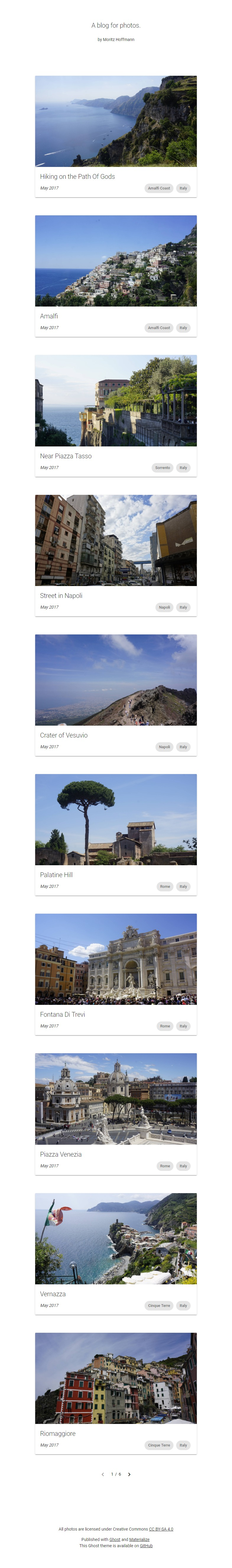A-blog-for-photos-