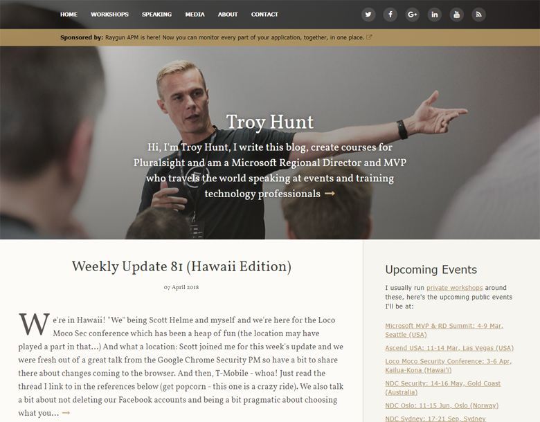 Brand new theme for the blog