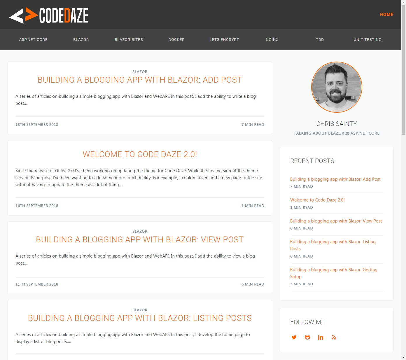 Ghost-blog-theme-for-Code-Daze.