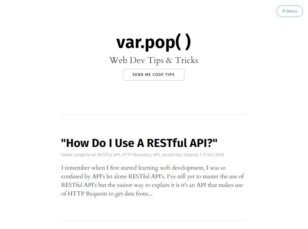 Repository for varpop.com ghost blog theme
