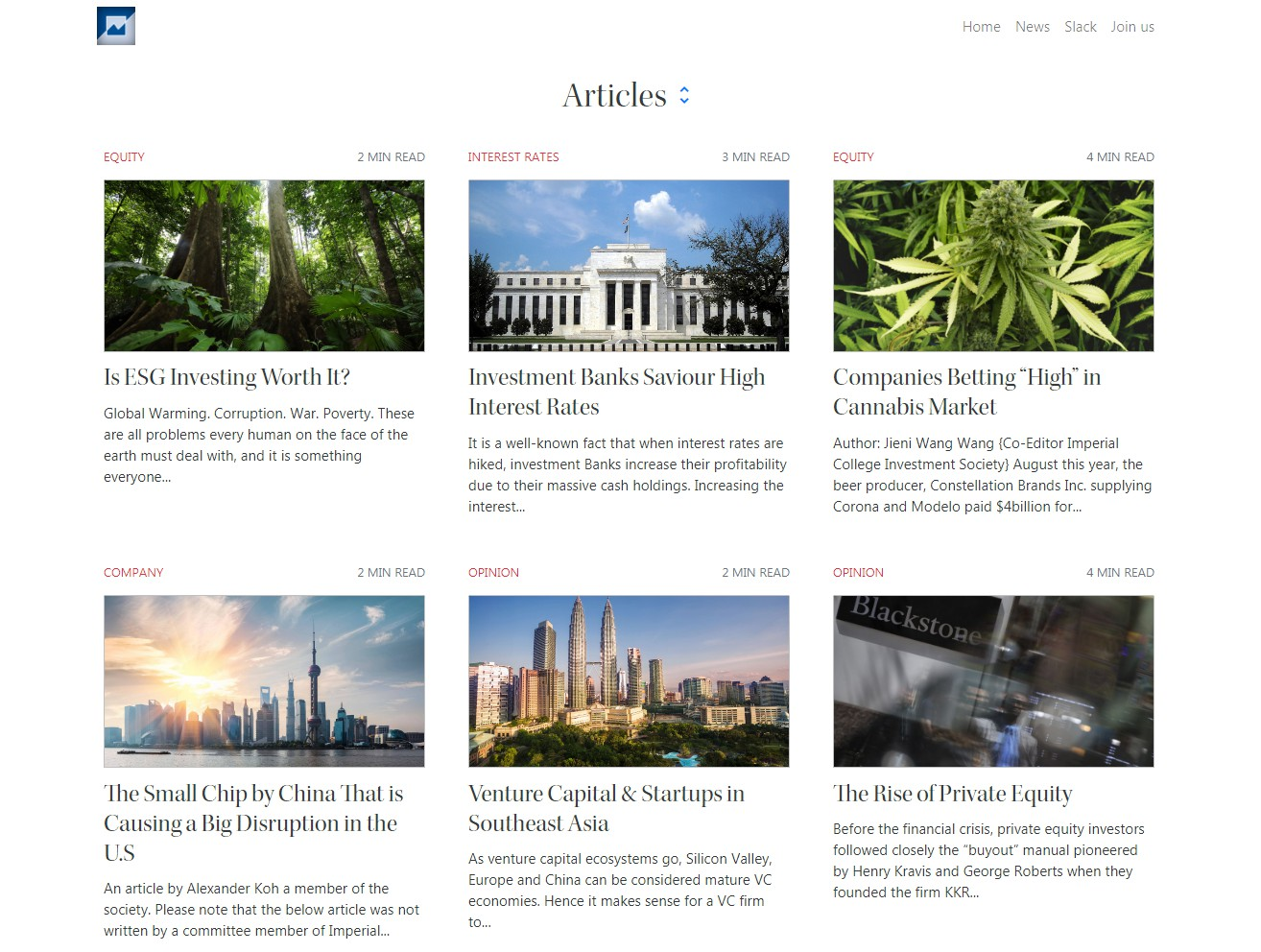 Ghost blog theme for ICIS